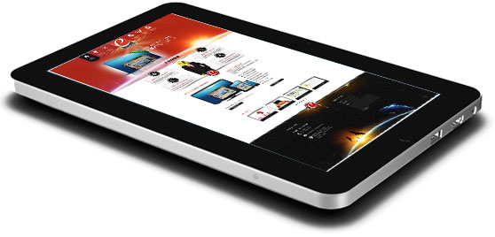 egypt web design tablet